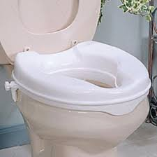 2 inch raised toilet seat