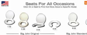 big johns toilet seats