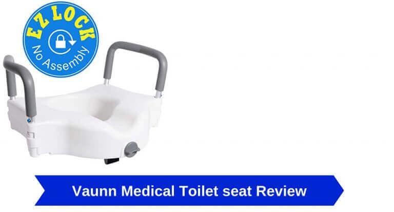 vaunn medical elevated raised toilet seat