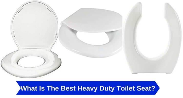heavy duty toilet seat