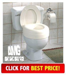 best price for AquaSense Portable Raised Toilet Seat