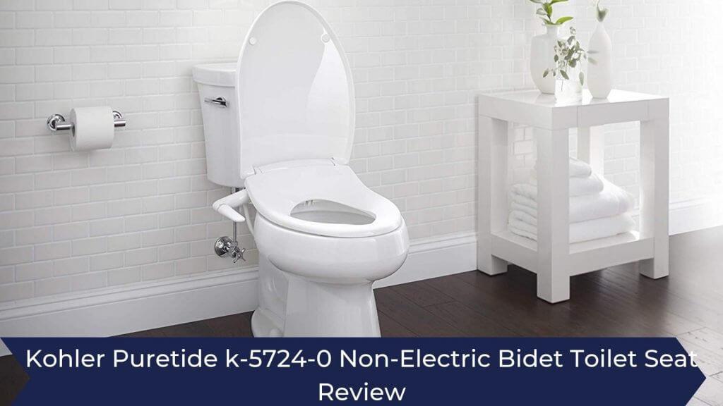 Phenomenal Kohler Puretide K 5724 0 Non Electric Elongated Bidet Toilet Alphanode Cool Chair Designs And Ideas Alphanodeonline