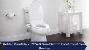 Kohler Puretide k-5724-0 Non-Electric Bidet Toilet Seat