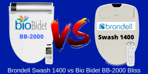 Bio Bidet BB-2000 Bliss Vs. Brondell Swash 1400 Bidet Toilet Seat Comparison